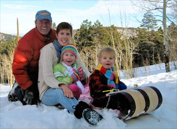 Keith Horstman, Denver Colorado Wedding Officiant and Family